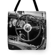 Vintage Aston Martin Dashboard Tote Bag