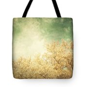 Vintage Autumn Tote Bag