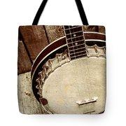 Vintage Banjo Barn Dance Tote Bag