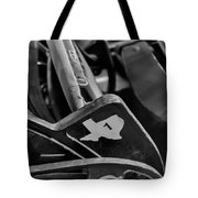 Vintage Baseball Chairs Tote Bag