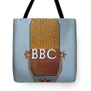 Vintage Bbc Mic Tote Bag