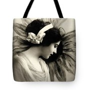 Vintage Beauty Tote Bag