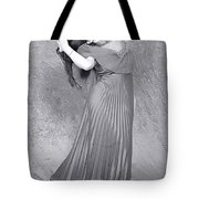 Vintage Black And White Tote Bag