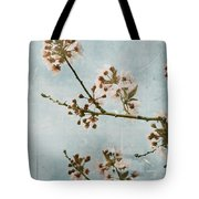 Vintage Blossoms Tote Bag