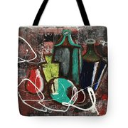 Vintage Bottles  Tote Bag