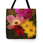 Vintage Bouquet Tote Bag