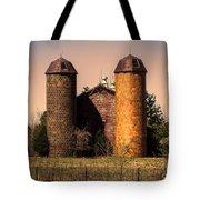 Vintage Brick Barn Tote Bag