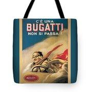 Vintage Bugatti Advert Tote Bag