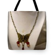 Vintage Butterfly Dreams Necklace Tote Bag