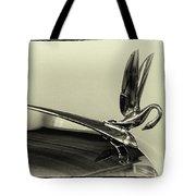 Vintage Cadilac 62, Hood Ornament Tote Bag