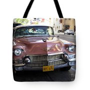 Vintage Cadillac. Luxury From The Past Tote Bag