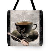 Vintage Cafe IIi Tote Bag