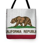Vintage California Flag Tote Bag