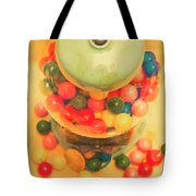 Vintage Candy Machine Tote Bag