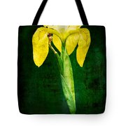 Vintage Canna Lily Tote Bag