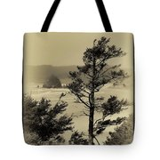 Vintage Cannon Beach Tote Bag