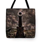Vintage Cannon Tote Bag