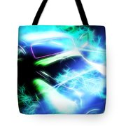Vintage Car 20 Neons Edition  Tote Bag