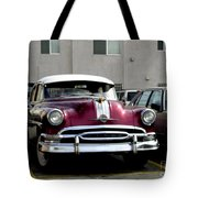 Vintage Car From 1940's Era Tote Bag