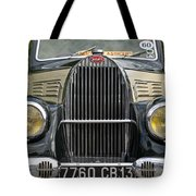 Vintage Car Tote Bag