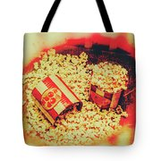 Vintage Carnival Snack Booth Tote Bag