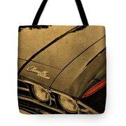 Vintage Chevrolet Chevelle Hood Tote Bag