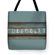 Vintage Chevrolet Tailgate Tote Bag