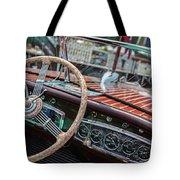 Vintage Chris Craft Tote Bag