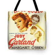 Vintage Classic Movie Posters, Meet Me In St. Louis Tote Bag
