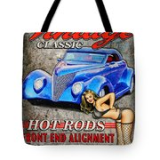 Vintage Classic Sign Tote Bag