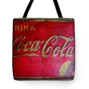 Vintage Coca-cola Sign Tote Bag