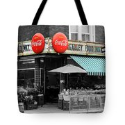 Vintage Coca Cola Signs Tote Bag