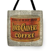 Vintage Coffee On Dictionary Page Tote Bag
