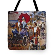 Vintage Cycle Poster Prinetti Stucchi Unica Grande Fabbrica Italiana Milano Tote Bag