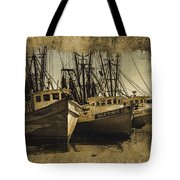 Vintage Darien Shrimpers Tote Bag