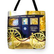 Vintage Delivery Wagon Tote Bag