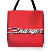 Vintage Dodge Charger Logo Tote Bag