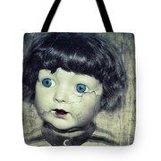 Vintage Doll Tote Bag