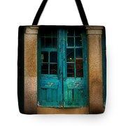 Vintage Doors Tote Bag