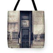 Vintage Dress Shop Tote Bag