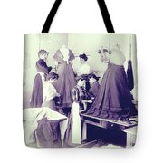 Vintage Dressmakers Tote Bag