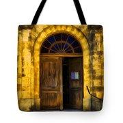 Vintage Entrance Tote Bag