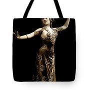 Vintage Exotic Dancer Tote Bag