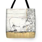 Vintage Farm 2 Tote Bag by Debbie DeWitt