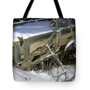 Vintage Farm Wagon Tote Bag
