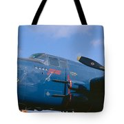 Vintage Fighter Aircraft, Burnet, Texas Tote Bag