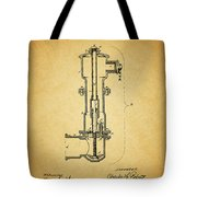 Vintage Fire Hydrant Tote Bag