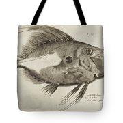 Vintage Fish Print Tote Bag