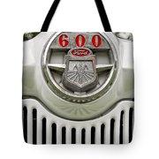Vintage Ford 600 Nameplate Emblem Tote Bag