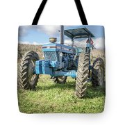 Vintage Ford 7610 Farm Tractor Tote Bag